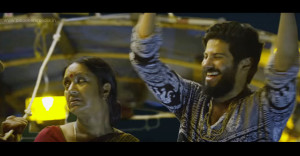 Chithirathira Song From Charlie Malayalam Movie-Dulquer-Kalpana